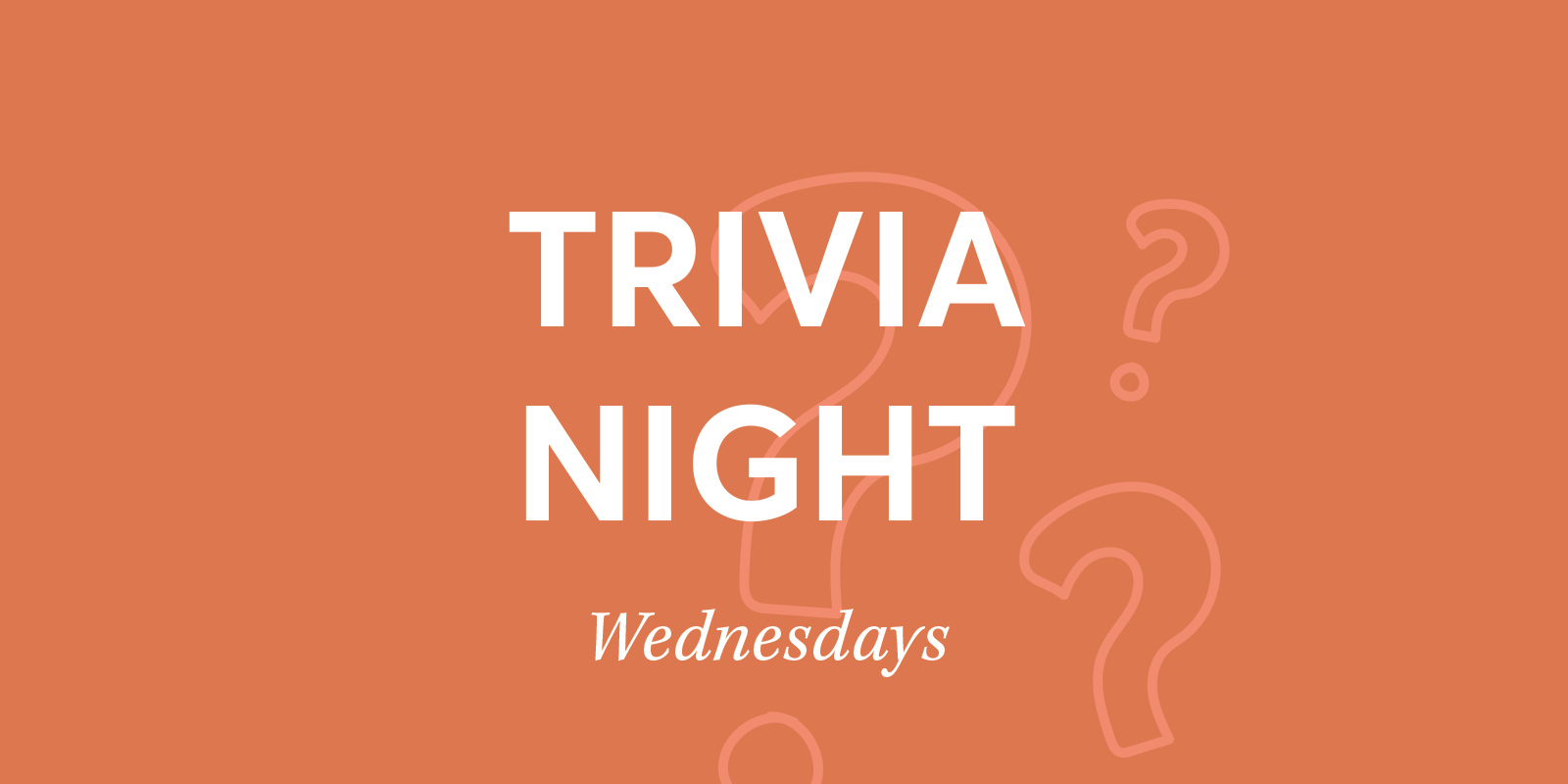 Trivia – Starting on the 9th September Rectangle