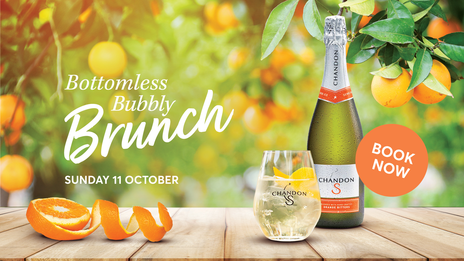 Bottomless Brunch – Chandon S Square